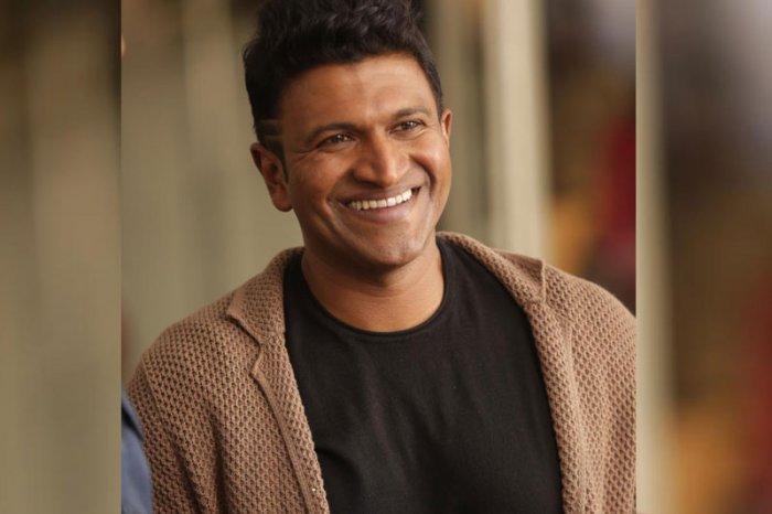 Puneeth Rajkumar is Dr Rajkumar's son. (Credit: DH file photo)