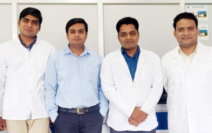 The research team in IIT Guwahati. (Photo credit: IIT Guwahati)