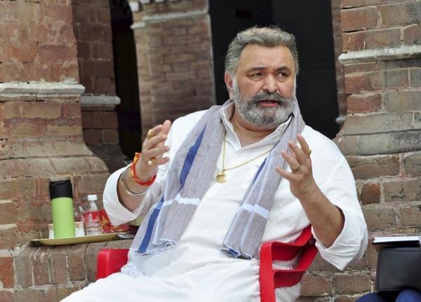In this May 06, 2018 photo, Bollywood actor Rishi Kapoor during a shoot at Nabha Haveli in Patiala. Kapoor lost his battle with cancer and died at a hospital in Mumbai on Thursday, April 30, 2020. (PTI Photo)