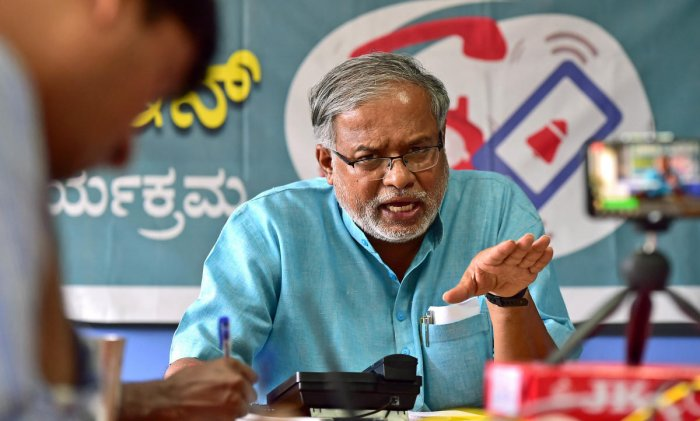 The meeting comes in the wake of the direction issued by the Primary and Secondary Education Minister S Suresh Kumar for deciding on the issue. DH Photo