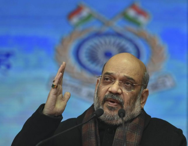 Union Home Minister Amit Shah. (PTI file photo)