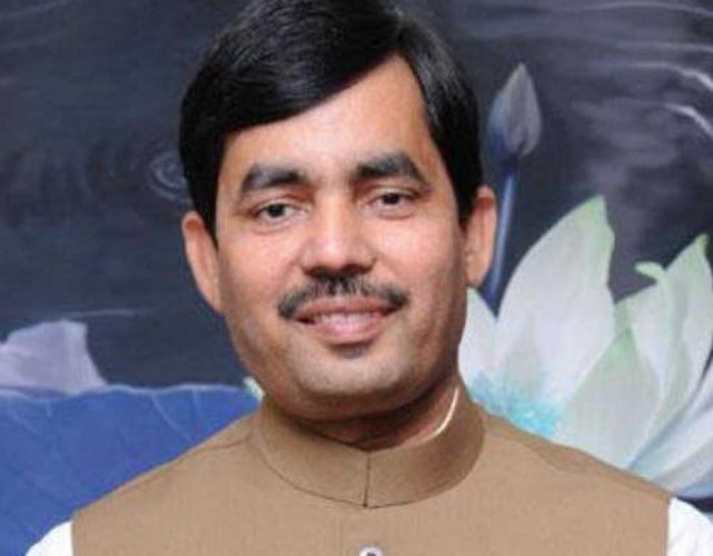 BJP leader and former Union Minister Shahnawaz Hussain. (PTI File Photo)