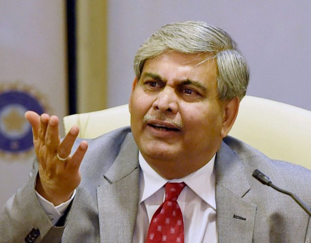 "ICC chairman Shashank Manohar said: ""We do not take the decision to suspend a member lightly but we must keep our sport free from political interference. PTI file photo"