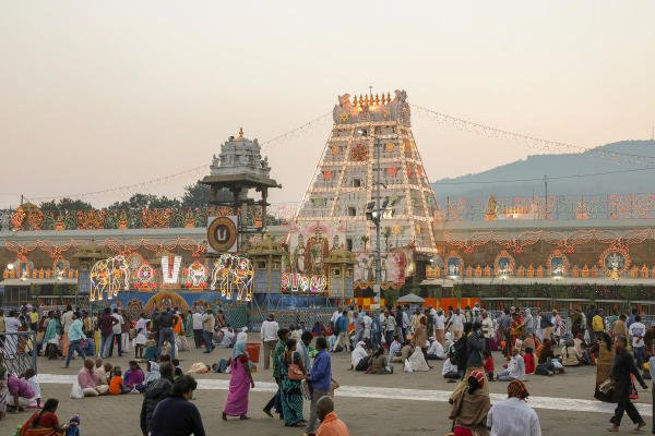 Tirumala temple. (DH photo)