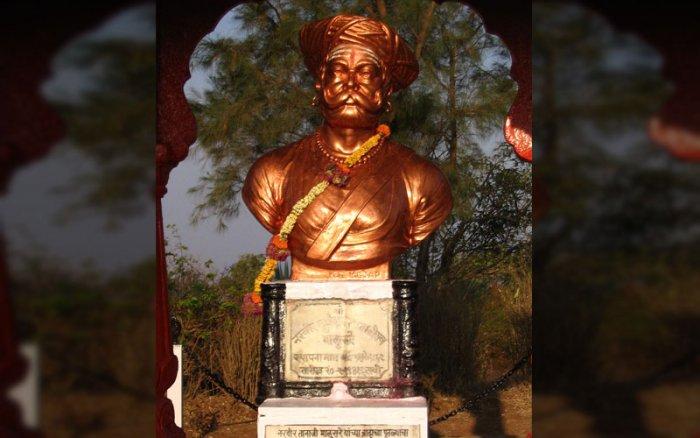 Memorial of Tanaji Malusare in Sinhgad Fort. (Flickr)