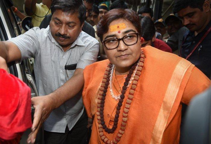 Sadhvi Pragya Singh Thakur. (PTI file photo)