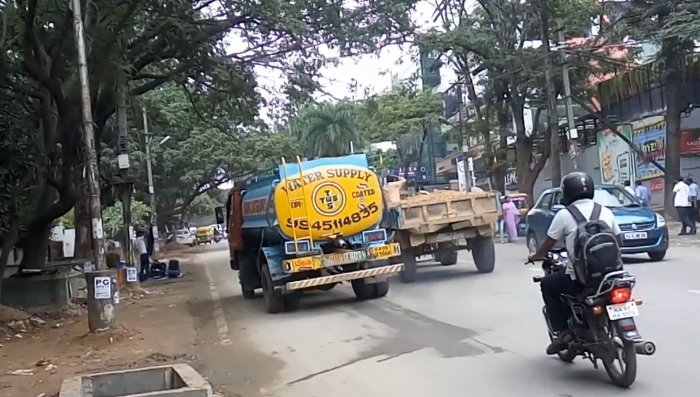 Vehicular pollution in Bengaluru. (Photo by Tejas Dayananda Sagar)