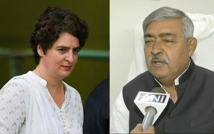 """The public health engineering department (PHED) minister said apart from Priyanka's """"beauty"""", she has no political achievements."""