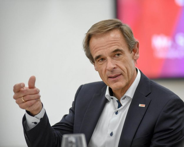 Volkmar Denner, CEO, Bosch Group. (DH Photo)