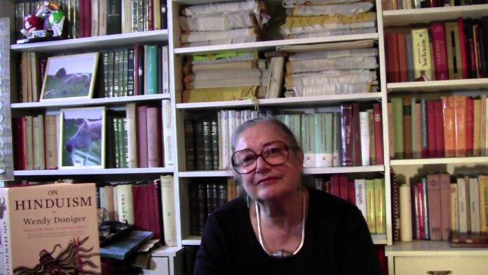 American indologist Wendy Doniger. (Video grab)