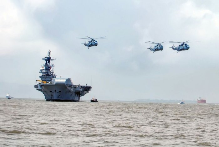 Decommissioned aircraft carrier INS Viraat. (DH photo)
