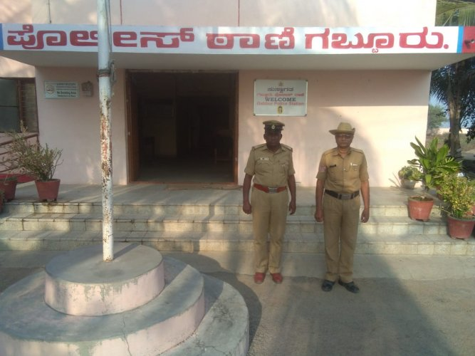 In a national survey, conducted byGrand Toratan India Limited,Gabbur Police Station stood first in the state and secured 17th place in the country. (DH photo)