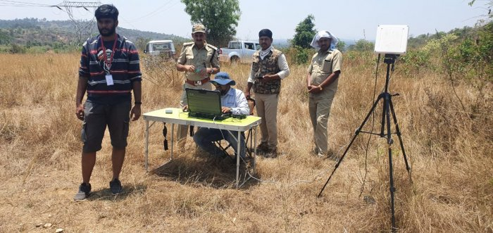 The Bengaluru Urban Forest Division officials assisted by various voluntary organisations like the Drone Federation of India have been monitoring the forest areas in and around Bengaluru for the last few days.