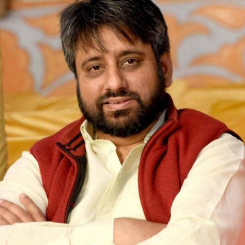 """ACB chief Arvind Deep said the AAPMLA and Waqf Board Chairman Amanatullah Khan had allegedly misappropriated Waqf Board funds and carried out """"irregular recruitment"""". Credit: Facebook (amanatullahkhanokhla)"""