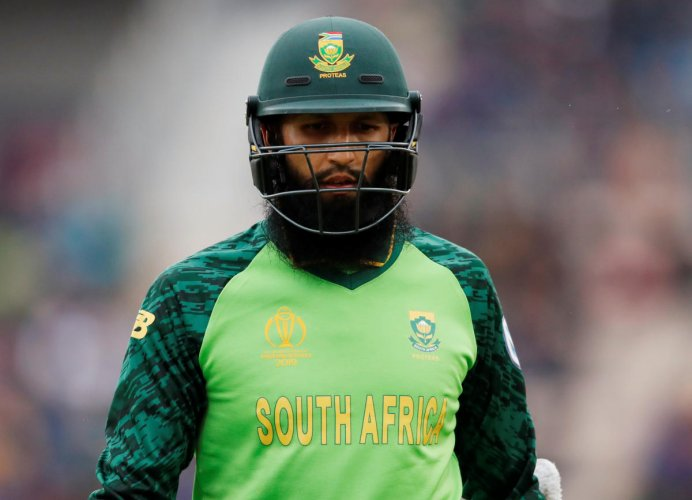 Hashim Amla has been out of form in this tournament so far. Photo credit: Reuters