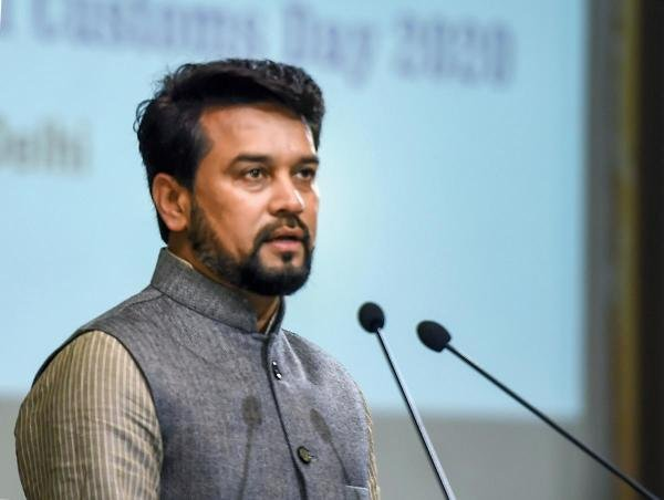 Minister of State for Finance and Corporate Affairs Anurag Singh Thakur. (PTI Photo)