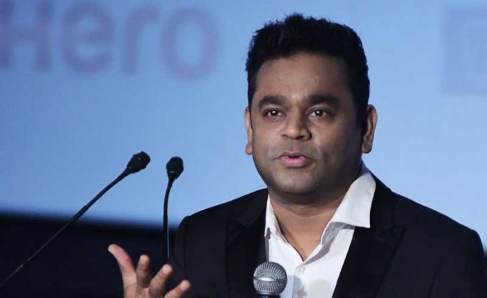 A R Rahman, India's most high-profile movie music composer was in town on Monday. He missed his flight, and took another: it turned out to be a packed day, with interviews lined up at the Sheraton Grand in Rajajinagar. (AFP File Photo)