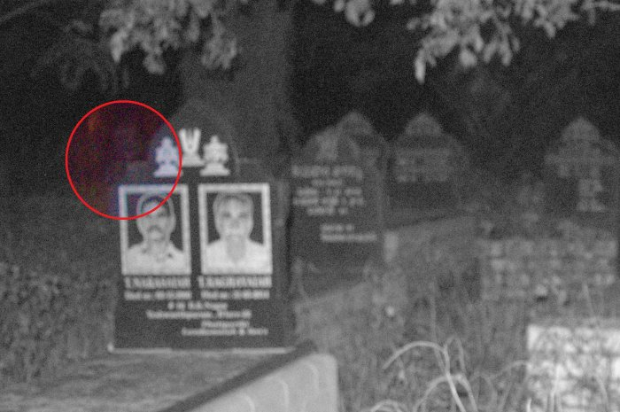 The group claims it captured an image of a spirit at the Kalpalli cemetery in Bengaluru.