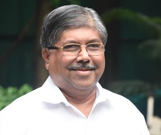 aharashtra BJP president Chandrakant Patil. (PTI Photo)