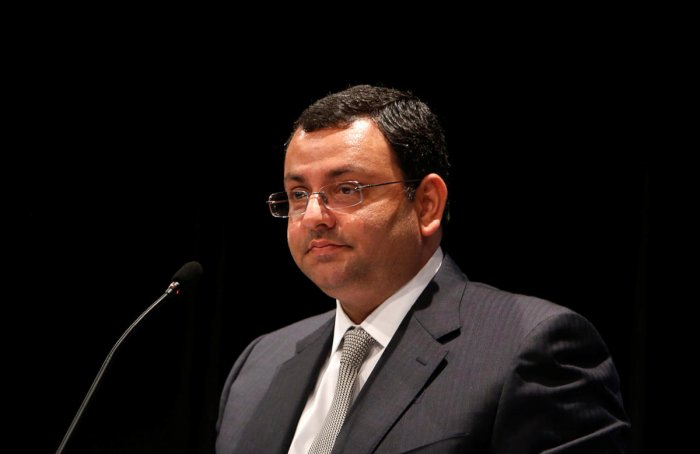 Mistry, who was the sixth chairman of Tata Sons, was ousted from the position in October 2016. He had taken over as the chairman in 2012 after Ratan Tata announced his retirement. Photo/Reuters