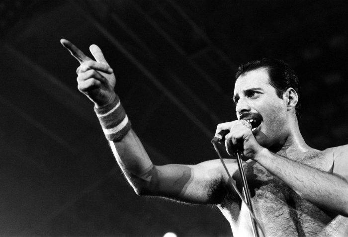Freddie Mercury in 1984 (DH photo)