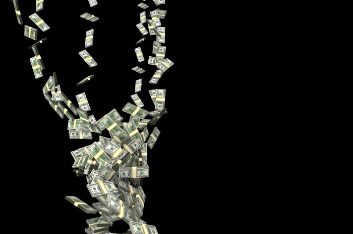 """""""He started throwing money out of the bag"""" before yelling, """"Merry Christmas,"""" eyewitness Dion Pascale recounted. Representative image/Pixabay"""