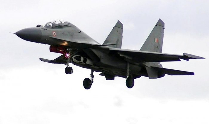 To a question in Lok Sabha on a MiG 29 KUB (Trainer) catching fire in Goa, Union Minister of State for Defence Shripad Naik said that on November 11, the aircraft encountered a flock of birds after takeoff from the Dabolim naval air station and caught fire. Representative image/AFP