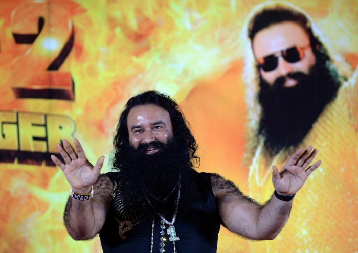 Devotees owing allegiance to Dera Sacha Sauda chief Gurmeet Ram Rahim Singh are posting over a thousand letters a day for the past few days ahead of his birthday and Raksha Bandhan. AFP file photo