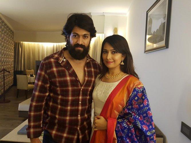 Yash and Radhika Pandit.