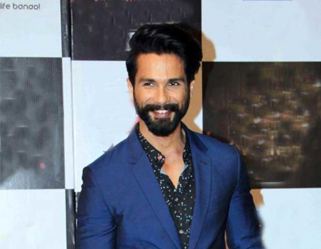 """Shahid says it is important for an actor to be """"selfish"""" if they want to excel. (File Photo)"""