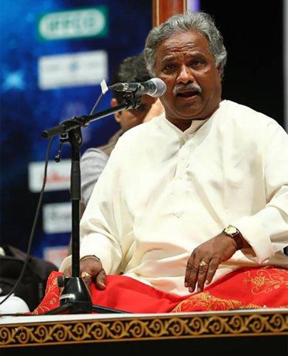 Pt Venkatesh Kumar will receive the 'Samagana Mathanga National Award' on February 3 at Chowdaiah Memorial Hall, Malleswaram.