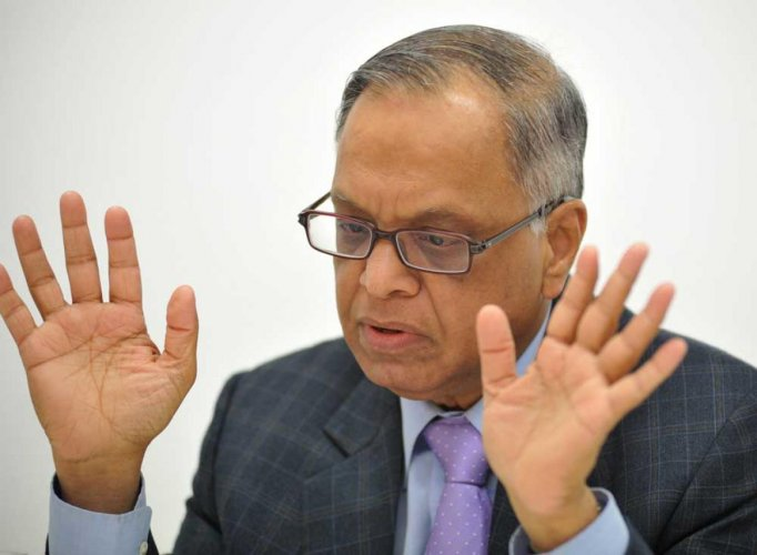 Infosys co-founder N R Narayana Murthy, DH file photo