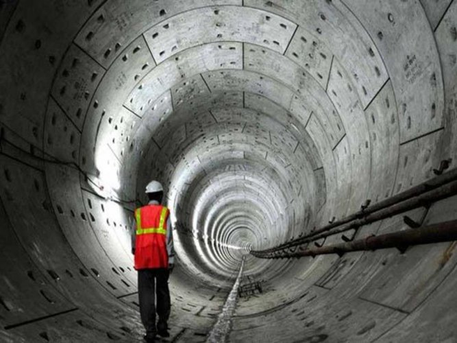 The latest tender covers three stations — Vellara junction, MG Road and Shivajinagar — with the stretch of the tunnel, including stations, measured at approximately 2.755 km.