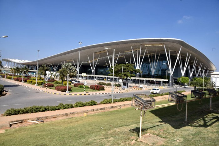 The Bengaluru International Airport Police lodged a complaint against the two women for trying to fly from the KIA using fake documents.