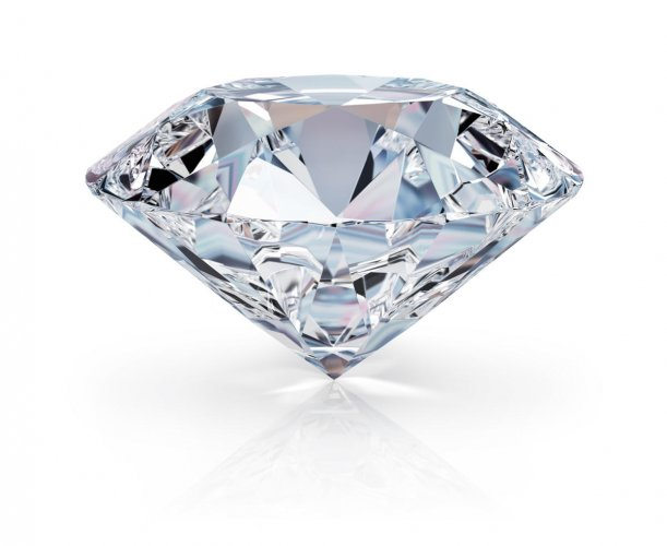 Diamonds are crystals of carbon that form beneath the Earth's crust in very old parts of the mantle. They are brought to the surface in volcanic eruptions of a special kind of magma called kimberlite.