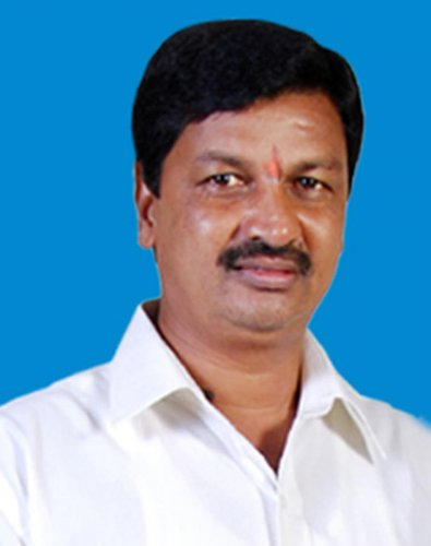Municipal Administration Minister Ramesh Jarkiholi. DH file photo.