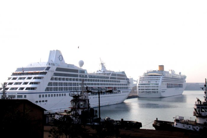 In the cruise ship, there will be multiple restaurants, coffee shops, recreation room, swimming pool, lounge and discotheque. It can carry 400 passengers and has 104 cabins of different categories. (DH file photo)