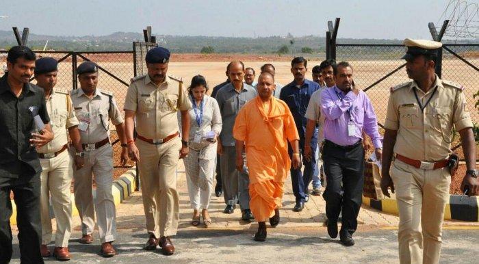 Uttar Pradesh Chief Minister Yogi Adityanath, DH Photo