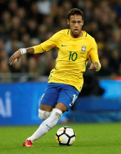 Neymar feels he is in a race against time to be mentally fit for the World Cup in Russia. REUTERS
