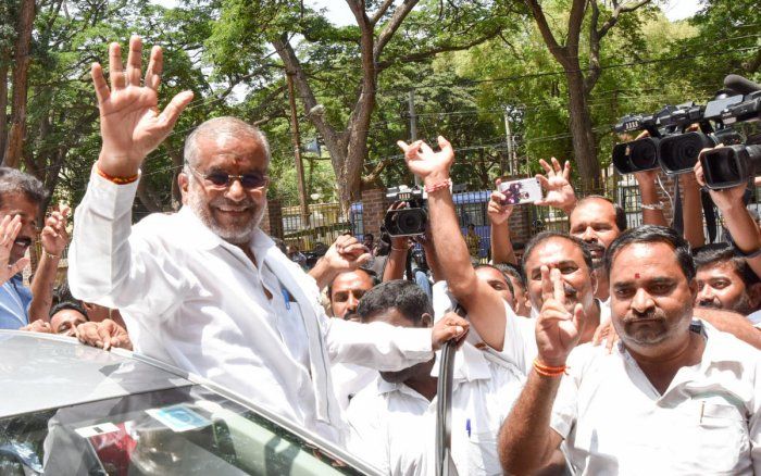 G T Devegowda. (DH file photo)