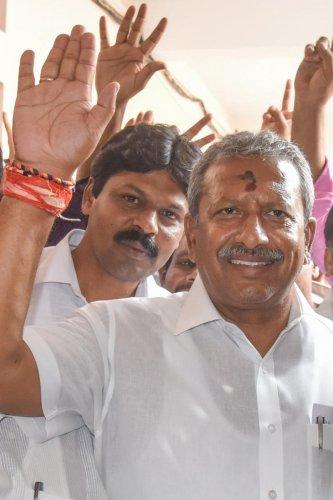 Byrathi Basavaraj. DH file photo