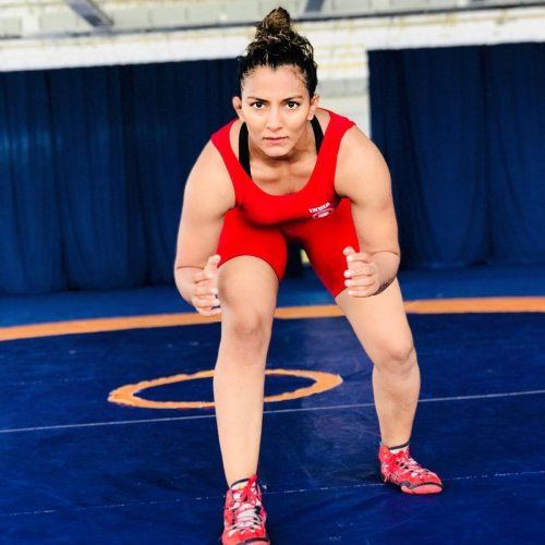 Geeta Phogat and sister Babita were ignored from the national camp by the Wrestling Federation of India.