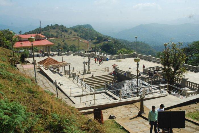 A view of Talacauvery Kshetra.