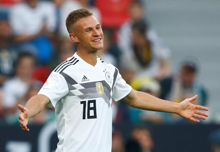 Germany defender Joshua Kimmich.