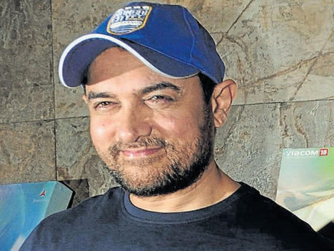 As Salman Khan's Race 3 released today his good friend Aamir Khan wished him luck and said he loves the actor personally and professionally. File photo