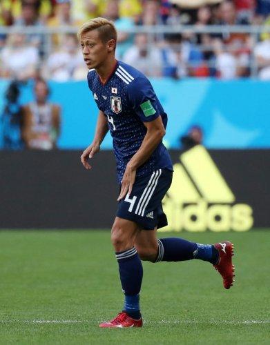 Keisuke Honda. REUTERS