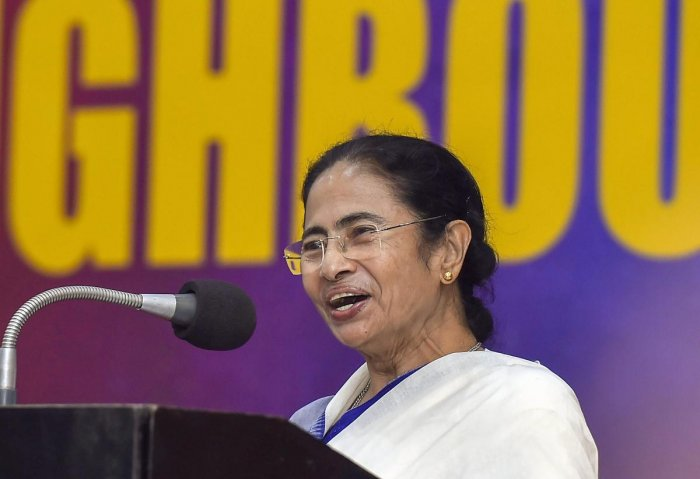 """""""The journey which began on January 1, 1998 has been full of struggles, but we have been steadfast in our resolve to fight for the people #Trinamool21,"""" Banerjee said in a tweet. (PTI File Photo)"""