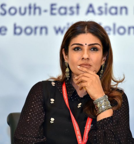 Raveena Tandon. PTI