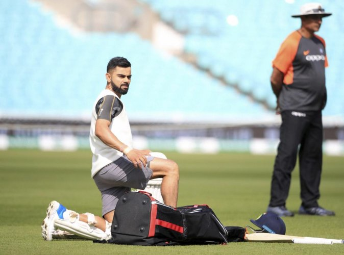 Virat Kohli, who has had a good series with the bat, will be again under pressure as captain when India take on England in the fifth and final Test at the Oval from Friday. AP/ PTI