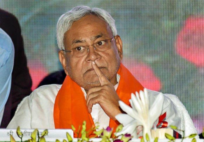 Bihar Chief Minister Nitish Kumar. PTI file photo